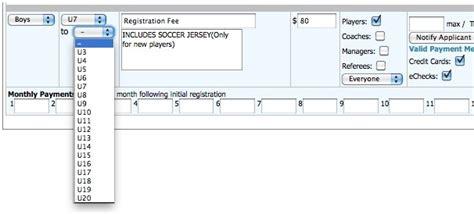 Got Soccer Background Check Age Gender Specific Registration