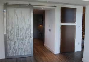 contemporary barn doors modern barn door using 3 form resin panels barn door