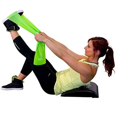 Ab Mat Sit Up by Elite Ab Mat Sit Up Pad With Resistance Band