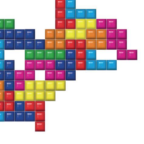 printable tetris shapes a world map in a tetris style art print feel desain