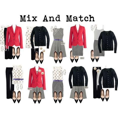 Wardrobe Mix And Match Ideas by Mix And Match For Work Fashion