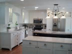 Mission Style Kitchen Cabinets White Painted Traditional Mission Style Cabinets