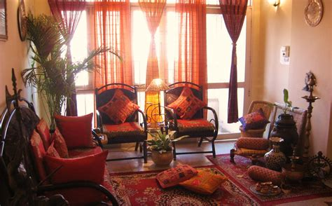 Home Interior Design Ideas India by Ethnic Indian Decor