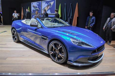 Aston Martin Vanquish Convertible by 2018 Aston Martin Vanquish S Volante Debuts In Geneva