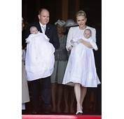 Princess Charlene Of Monaco And Twin Babies Wore Dior