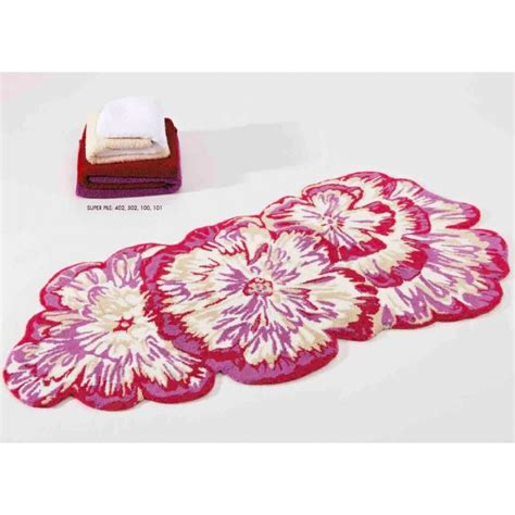Floral Bathroom Rugs Abyss Habidecor Aloha Bath Rugs Bright Floral Bath Rugs J Brulee