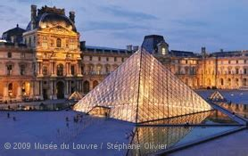 Online Floor Plan visitor trails louvre museum paris