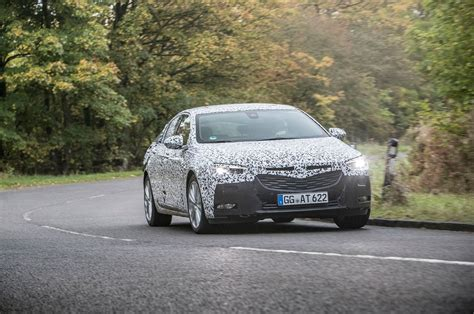 opel insignia 2017 vauxhall insignia grand sport 2017 prototype review by