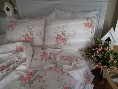 pink rose king size 1 duvet cover 2 by lavenderstreet on etsy