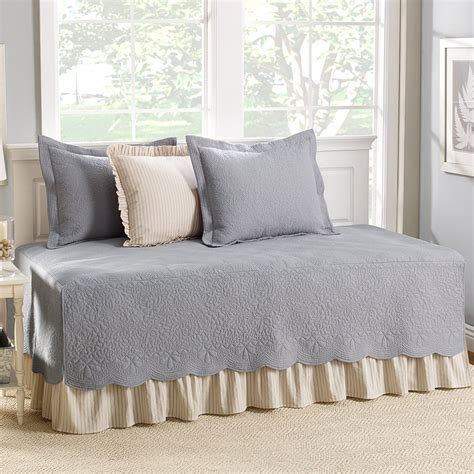 Daybed Cover Sets Cottage Trellis Gray 5 Daybed Cover Set Bedding And Bedding Sets At Hayneedle