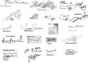 what type of signature do you check out your