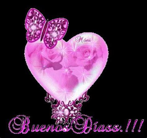 imagenes de love you con brillo buenos dias 80 buenos d 237 as a ti gifs coraz 243 n rosa