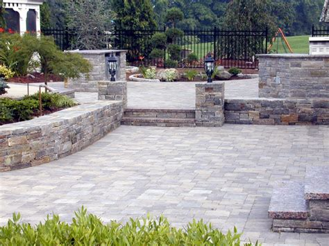 Backyard Masonry Ideas Diy Paver Patio Cost Patio Design Ideas