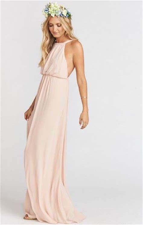 Amanda Maxi X amanda maxi dress dusty blush crisp