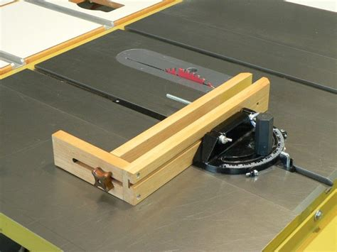 table saw miter jig woodworking jigs thread shop made jig small parts