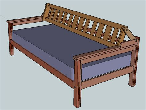 how to build a day bed howtospecialist how to build daybed with back support do it yourself furniture