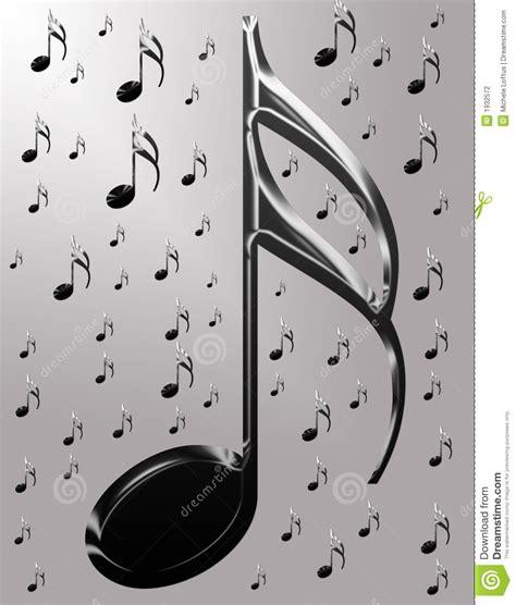 imagenes musicales 3d notas musicales met 225 licas fotograf 237 a de archivo imagen