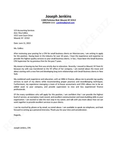 application letter sle cover letter sle writing