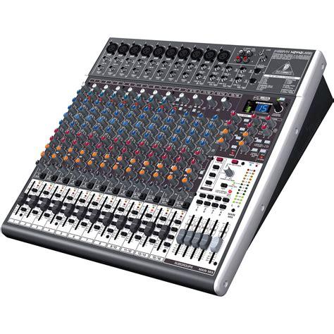 Mixer Behringer Xenyx behringer xenyx x2442usb 24 input 4 2 mixer w fx usb