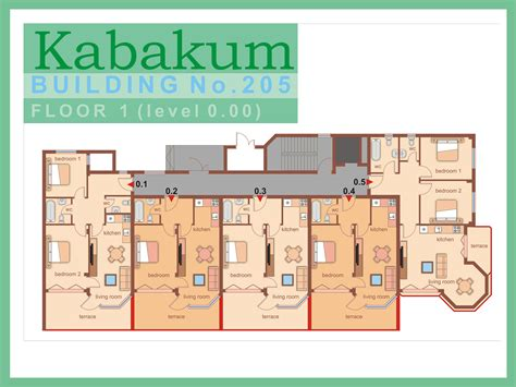 one bedroom apartment size kabakum beach resort luxury beachfront apartments