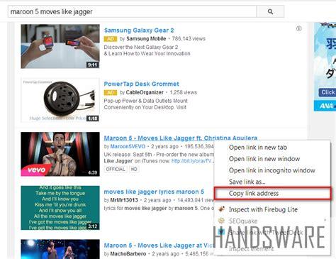 download youtube selain savefrom cara mudah download video youtube tanpa software handsware