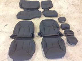 Seat Covers Jeep Wrangler Unlimited Factory Oem Cloth Seat Covers Black 2015 Jeep Wrangler