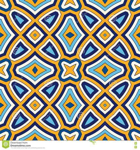 ornamental seamless pattern vector abstract background bright ethnic abstract background seamless pattern with