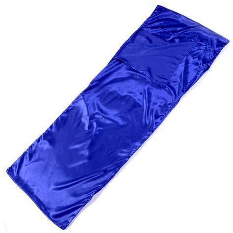 satin silk cing outdoor sleeping bag travel hiking lightweight portable ebay