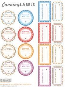 jam labels template free printable canning labels botanical paperworks
