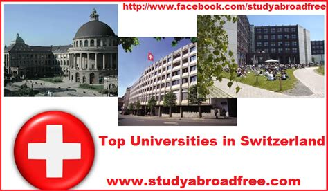 Best Universities In Finland For Mba by Top Universities In Switzerland Study In Canada Without