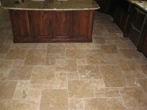 tumbled travertine tiles kitchen bathroom floors tile
