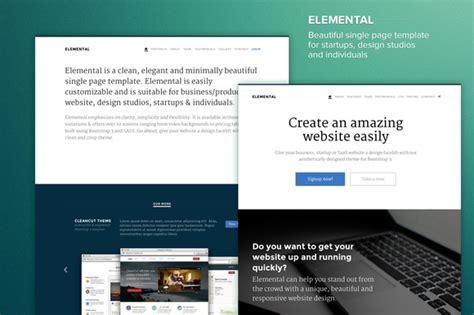 elegant themes css id elemental minimal elegant theme bootstrap themes on