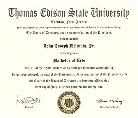 Edison State College Mba by Tesc Degreeinfo