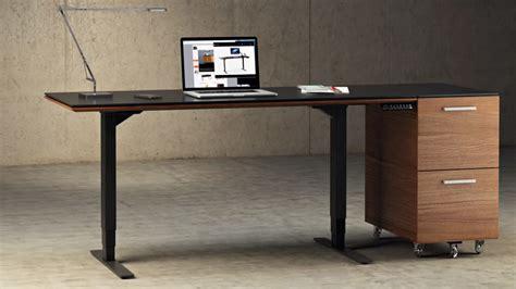 how tall is a desk sequel lift standing desk 60 quot x24 quot 6051 bdi