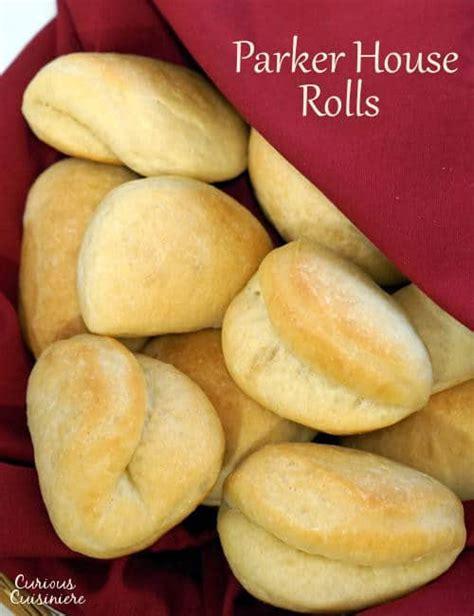 parker house rolls parker house rolls curious cuisiniere