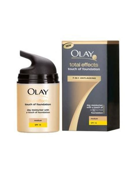 Olay Total Effect Touch Of Foundation olay total effects 7in1 touch of foundation bb moisturiser