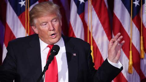 donald trump victory speech donald trump s victory speech full text cnnpolitics