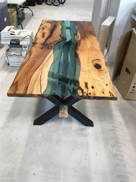 slim necktie in wood poplar burl melissambre le bois la mode live edge table with glass and poplar burl timber salvabrani