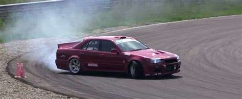 custom nissan skyline drift nissan skyline r34 sedan uses an ls3 to drift the torque