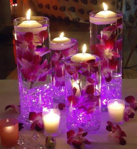 wedding centerpieces with flowers and floating candles 2016 frozen flower centerpiece fashion