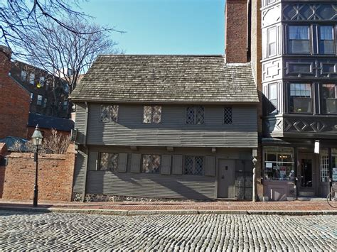 Paul Revere House by Panoramio Photo Of Paul Revere House 1680 Boston