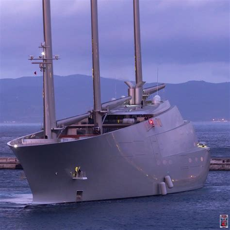 Nautical Design by Sailing Yacht A Arrested Over 15 3m Claim In Gibraltar