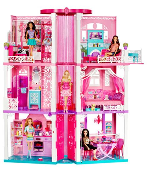 amazon barbie dream house barbie dream house dollhouses amazon canada
