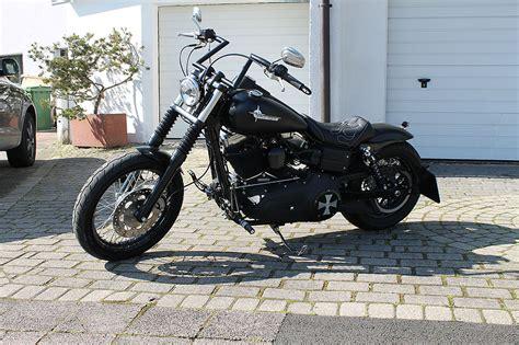 Tieferlegung Harley Street Bob by Txt Customparts Metallheckteile Schutzbleche