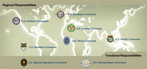 combatant command map opinions on unified combatant command