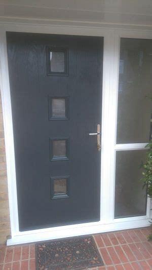 britannia windows west sussex grey composite door