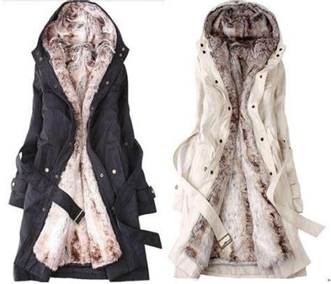 warm coats fashion womens thicken warm winter coat parka overcoat jacket outwear ebay