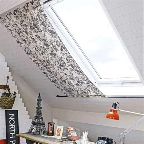 vorhang dachfenster b 252 ro zu hause mit dachblind eine einfache stoffbahn mit