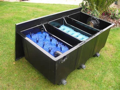 filtre bassin de jardin bassin de jardin