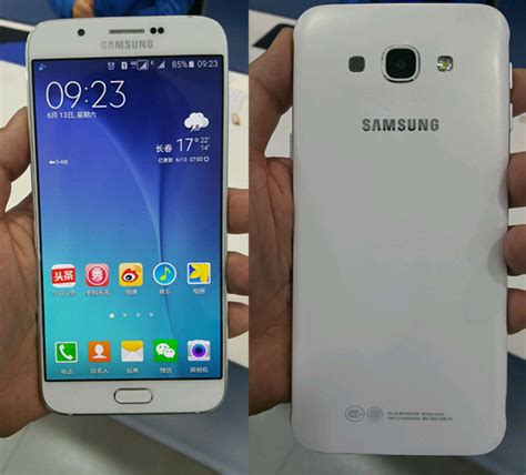 Samsung A7 N A8 Could The Samsung Galaxy A8 Be The Brand S Thinnest Phone